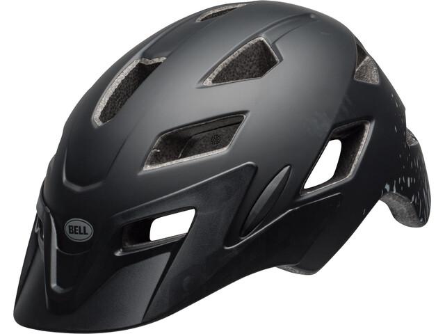 Bell Sidetrack Kask rowerowy Dzieci, matte black/silver